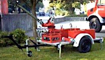 Anhänger Wasserwerfer